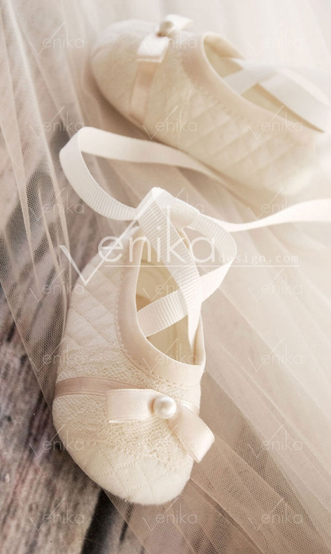 Ballerina shoes for baptism